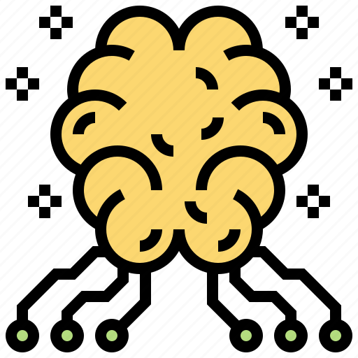 Ai, artificial, brain, circuit, intelligence icon - Download on Iconfinder