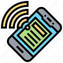 connection, internet, online, smartphone, wifi icon