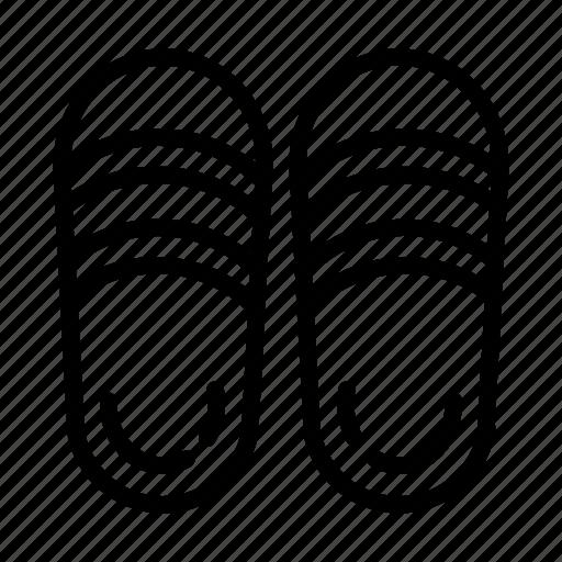 ballet, flats, rubber, sandals, shoe, shoes, slippers icon