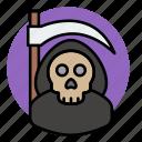 death, evil, halloween, skeleton, skull