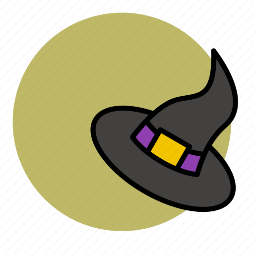 devil, evil, halloween, hat, magic, witch icon