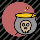 cauldron, evil, halloween, poison, toxic, witch