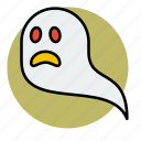 apparition, death, evil, ghost, halloween, wisp icon