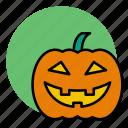 evil, halloween, jack, lantern, pumpkin icon