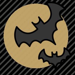 animal, bat, evil, halloween, witch icon