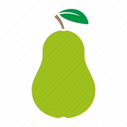 Food fruit pear sticker icon