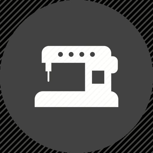 automatic, equipment, fabric, fashion, machine, sewing, thread icon