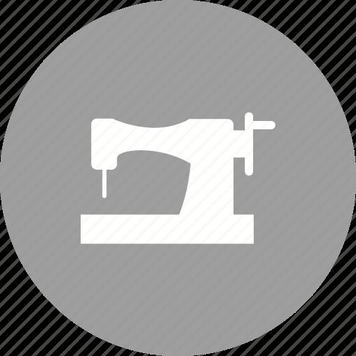 machine, needle, sew, sewing, spool, stitch, thread icon