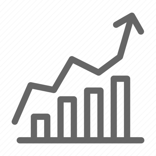 chart, graph, market, report, statistics, stock icon
