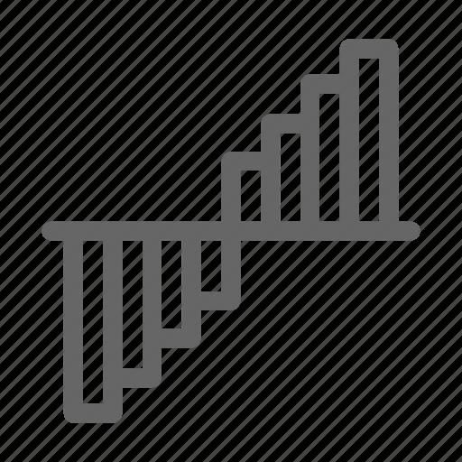 analytics, diagram, graph, market, statistics, stock icon