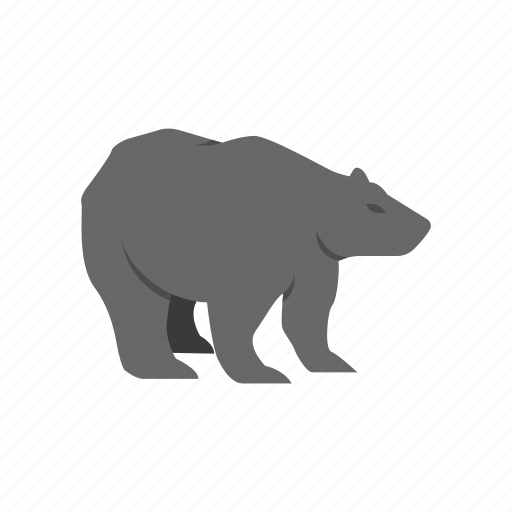 bear, bear market, black bear, grizzly bear icon