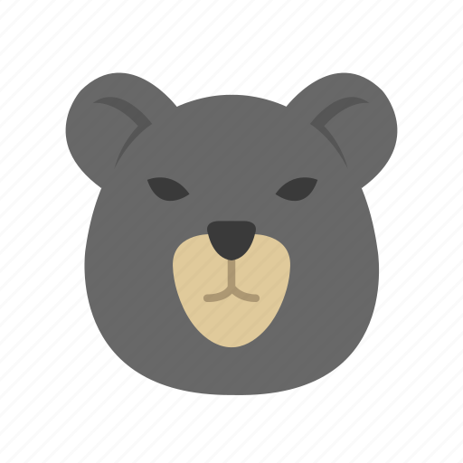 bear, bear market, black bear, brown bear icon