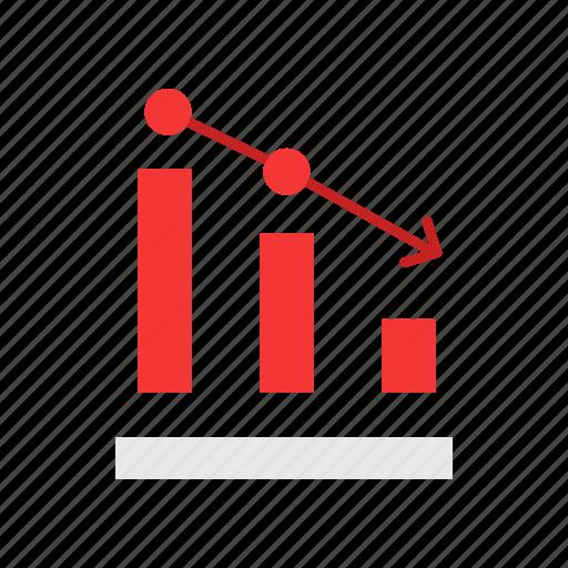 analytics, bar graph, chart, sales icon