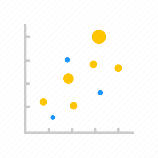 chart, data, dotted graph, sales icon