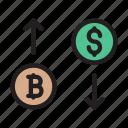 bitcoin, trading, finance, market, dollar