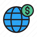 dollar, global, marketing, finance, trading