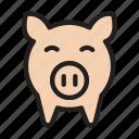 piggy, bank, trading, finance, market
