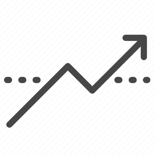 economic, gainer, graph, growth, stocks, up, uptrend icon