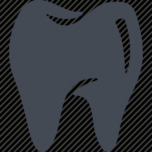 clinic, dental crown, dental treatment, dentistry, health, smile, treatment icon