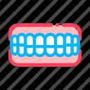 false, set, stomatology, teeth icon