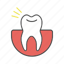 dental, hurt, pain, stomatology, teeth, tooth, toothache icon