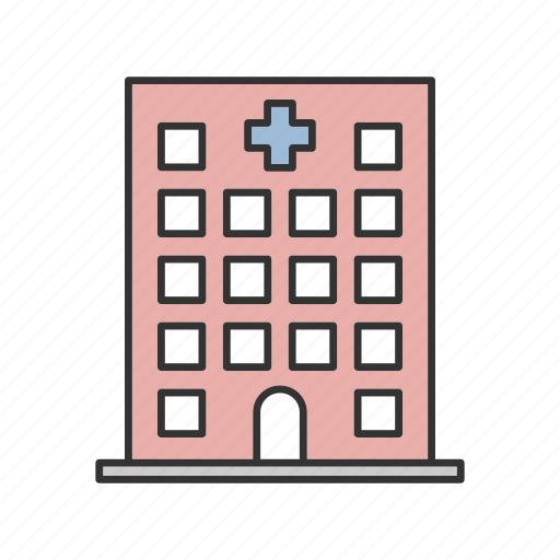 ambulance, building, clinic, doctor, hospital, medical, medicine icon