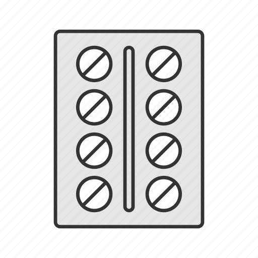 Blister, drugs, medication, painkiller, pharmacy, pills, prescription icon - Download on Iconfinder