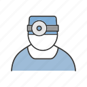 dentist, doctor, medic, medical, physician, practitioner, therapist icon