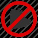 forbidden, kosher, meat, no pig, not pork, snout, swine icon