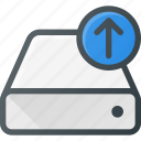 drive, upload icon