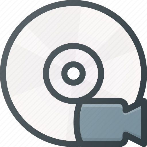 Camera, disk, drive, storage, video icon - Download on Iconfinder