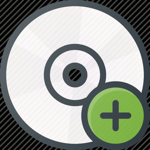 add, compact, dc, disk, drive, storage icon
