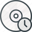 backup, compact, disk, drive, storage, time icon