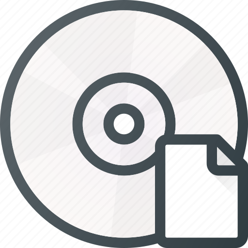 compact, disk, document, drive, file, storage icon