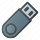 disk, drive, flash, pendrive, storage, usb icon