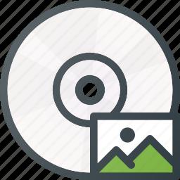 burn, disk, drive, image, iso, storage, write icon