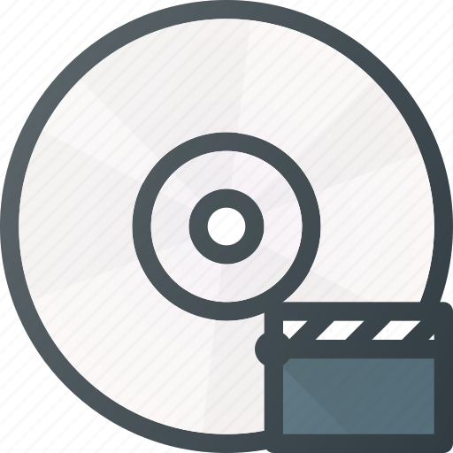compact, disk, drive, movie, storage, video icon
