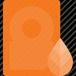 disk, drive, eco, hard, storage icon