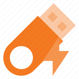 disk, drive, fast, flash, storage, usb icon
