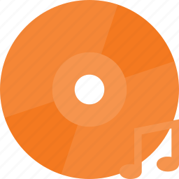 cd, compact, disk, drive, music, storage icon