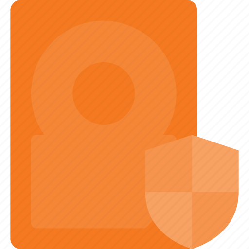disk, drive, hard, protect, storage icon