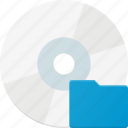 disc, disk, document, drive, folder, storage icon