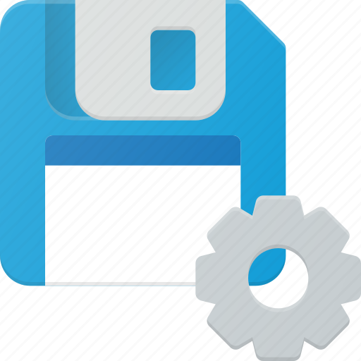 disk, drive, floppy, save, settings, storage icon