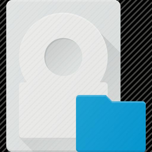 disk, drive, folder, hard, storage icon