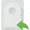 backup, disk, drive, hard, storage icon
