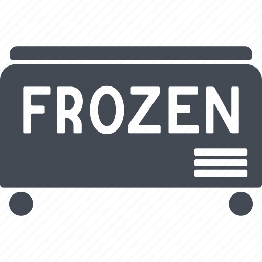 frozen, product, product sales, purchase, refrigerator, shopping center, store icon