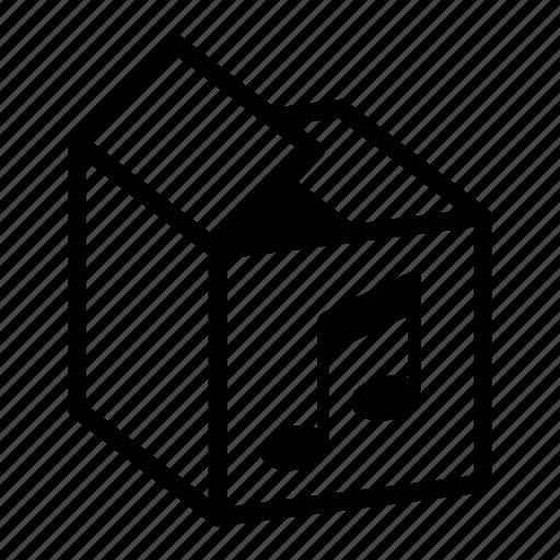 box, dpid, music, storeage music, storeage music collection, tune icon
