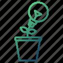creative, growth, idea, solution, strategy icon