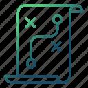 document, ideas, plan, strategy icon