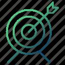 arrow, focus, goal, strategy, target